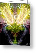 Angel Of Abundance Greeting Card