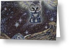 Angel Of Death Greeting Card by Thomas Maynard