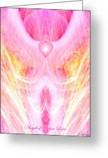 Angel Of Divine Love Greeting Card
