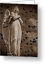 Angel Of Stone S Greeting Card