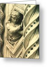 Angel Of The Basilica Greeting Card