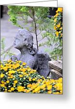 Angel Of The Garden Greeting Card