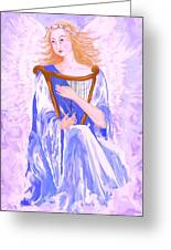Angel Greeting Card by Sheri Strang