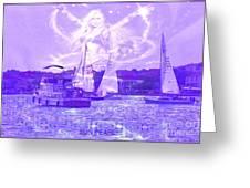 Angel Skies Greeting Card
