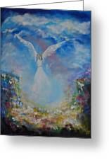 Angel Whisperings Greeting Card
