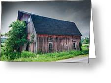 Angelica Barn In Hdr Greeting Card