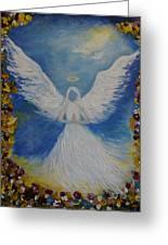 Angels Prayer Greeting Card