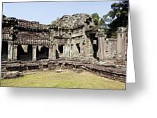 Angkor Archaeological Park Greeting Card