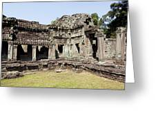 Angkor Archaeological Park Greeting Card