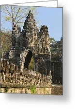 Angkor Archaeological Park II Greeting Card