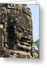 Angkor Thom Fae Greeting Card