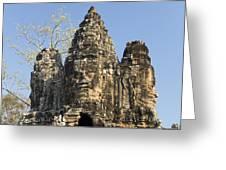 Angkor Thom II Greeting Card