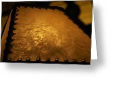 Angled Lamp Greeting Card