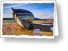 Anglesey Shipwreck Greeting Card