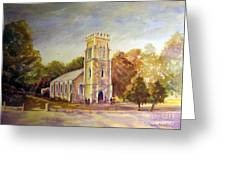 Anglican Church Beechworth  Victoria Greeting Card