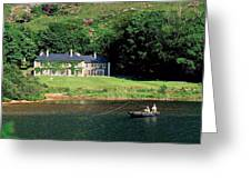 Angling, Delphi Lodge, Co Mayo, Ireland Greeting Card