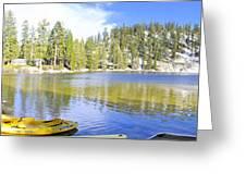 Angora Tranquility Base Greeting Card