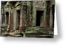 Ankor Wat Cambodia Greeting Card