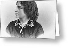 Anna Elizabeth Dickinson Greeting Card