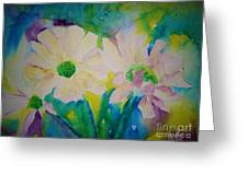 Anne's Flowers Greeting Card
