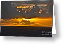 Another Caribbean Sunset Greeting Card