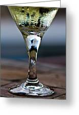 Another Chardonnay In Paradise Greeting Card