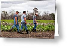 Another Cotton Pickin' Day Greeting Card