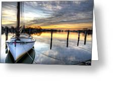 Another December Sunrise Greeting Card