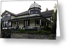 Another Greenwood Heritage Home Greeting Card