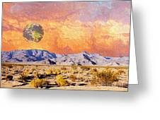 California Dreaming Greeting Card