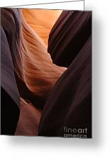 Antelope Canyon Natural Beauty Greeting Card