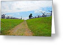 Antietam Battle Of Bloody Lane Greeting Card