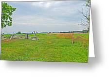 Antietam Battle Of The Cornfield Greeting Card