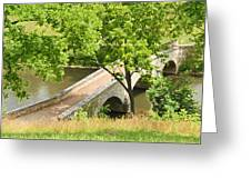 Antietam's Burnside Bridge Greeting Card