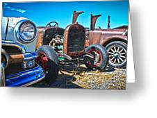 Antique Auto Sales Greeting Card