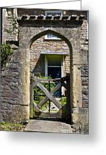 Antique Brick Archway Greeting Card