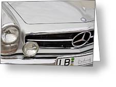 Antique Mercedes Automobile Greeting Card
