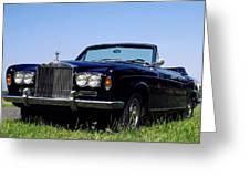 Antique Rolls Royce Greeting Card