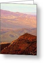 Anza-borrego Desert Foothills Greeting Card