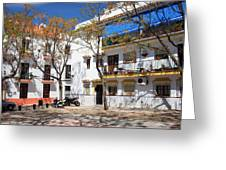 Apartment Houses In Marbella Greeting Card