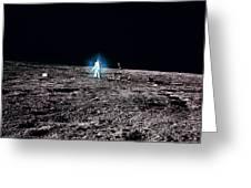 Apollo 12 Astronaut Greeting Card