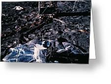 Apollo 14 Lunar Experiments Greeting Card