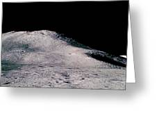 Apollo 15 Lunar Landscape Greeting Card