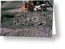 Apollo 15 Lunar Module Greeting Card