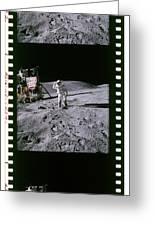 Apollo 16 Astronauts Greeting Card