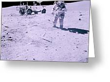 Apollo Mission 16 Greeting Card