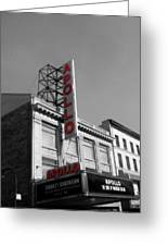 Apollo Theater In Harlem New York No.2 Greeting Card