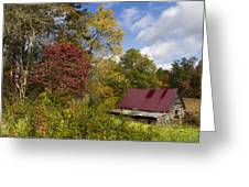 Appalachian Autumn Greeting Card