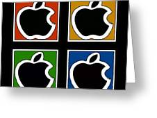 Apple Colors Greeting Card