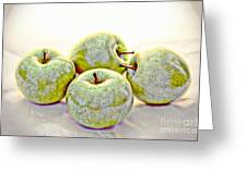 Apple Dust Greeting Card by David Taylor